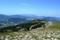 panoramic views pre-alps french walking holiday